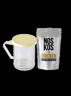 Noskos NOSKOS the Chicken 150 gram / Cambro Rub Shaker Deal