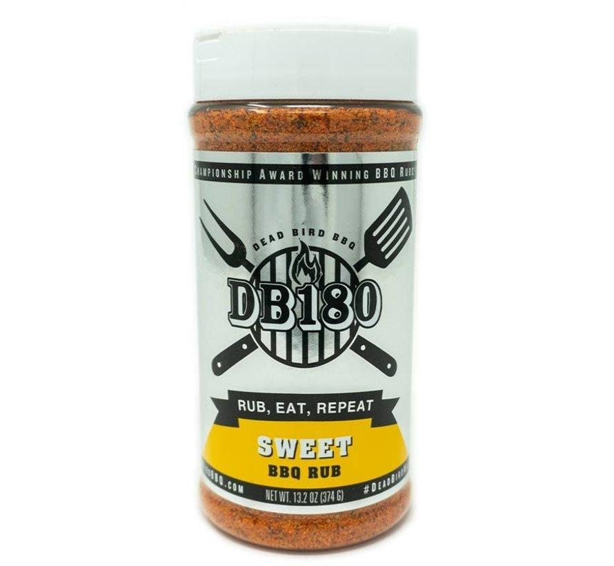 DB180 Sweet BBQ Rub 13.2 oz