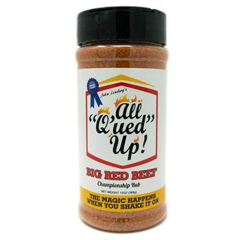 All Q'ued Up All Q'ued Up! Red Beef 13 oz