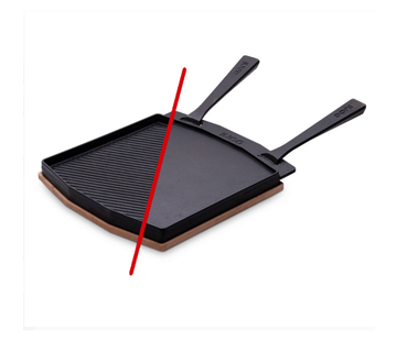 Ooni Ooni Dual-Sided Grizzler Pan