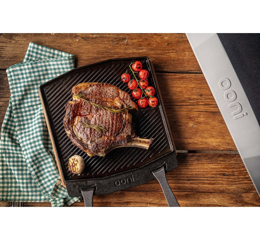 Ooni Dual-Sided Grizzler Pan