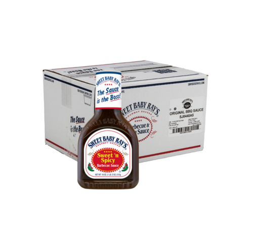 Sweet Baby Ray's Bulkdeal: 12 x Sweet Baby Ray's Sweet & Spicy 18oz