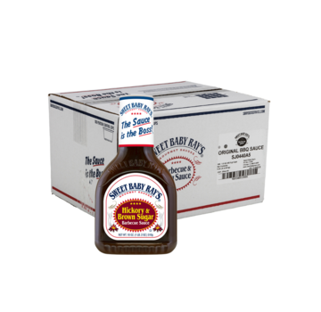 Sweet Baby Ray's Bulkdeal: 12 x Sweet Baby Ray's Hickory Brown Sugars 18oz
