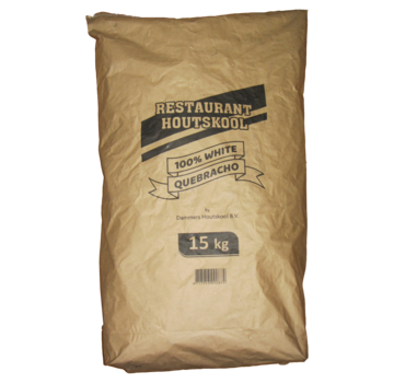Dammers Dammers Restaurant Charcoal 100% Weißer Quebracho 15 kg