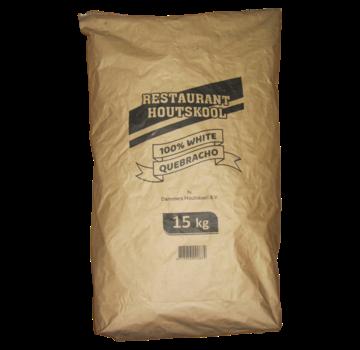 Dammers Dammers Restaurant Houtskool 100% White Quebracho 15 kg