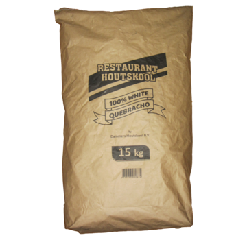 Transport Damage: Dammers Restaurant Houtskool 100% White Quebracho 15 kg
