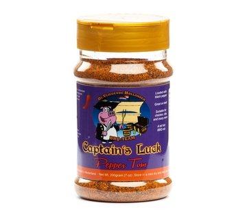 Captain's Luck Captain's Luck Pepper Tom BBQ Rub 200 gram