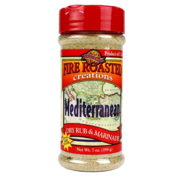 Mediterranean Fire Roasted Creations Mediterranean Rub & Marinade 8oz