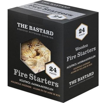 The Bastard The Bastard Wooden Fire Starters 24pcs / 350gr