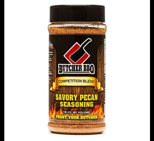 Butcher BBQ Butcher BBQ Savory Pecan Seasoning 16oz