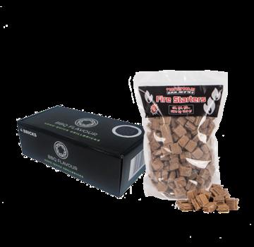 BBQ Flavour BBQ Flavor Briketts Quick Coconut Round 4 Stück / Fire Starters Deal