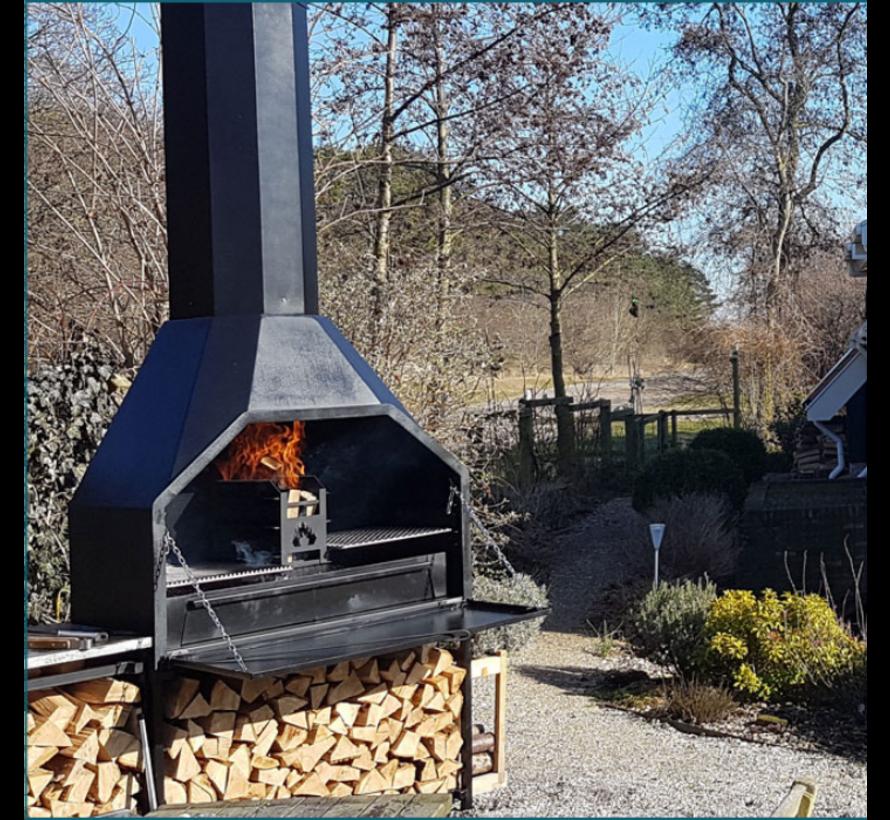 Home Fires Braai 1200 Compleet