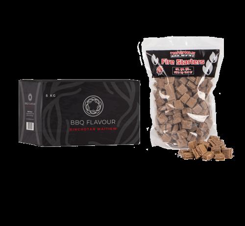 BBQ Flavour BBQ Flavour Binchotan White Maitiew / Aanmaakblokjes Deal 5 kg