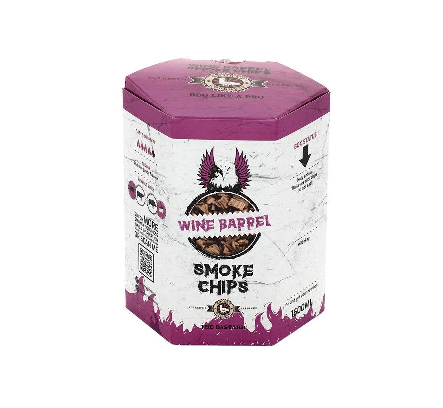 Smokey Goodness Wine Barrel Smoke Chips 1600 ml