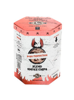 Vuur&Rook Smokey Goodness Pork Perfection Smoke Chips blend Hickory, Apple & Maple 1600 ml