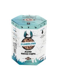 Vuur&Rook Smokey Goodness Flaming Fins Smoke Chips blend Alder, Apple & Cherry 1600 ml