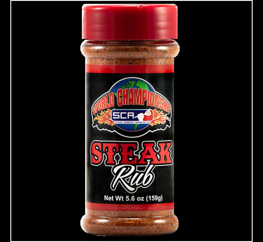Steak Cookoff Association Steak Rub 9.9 oz