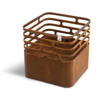 Höfats Höfats Cube Feuerkorb Rostig