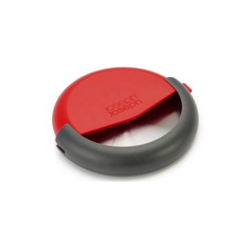 Vuur&Rook Duo pizza cutter with Integrated Blade Guard and Detachable Blade