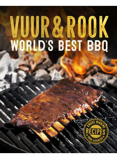 Vuur&Rook PRE-ORDER Vuur&Rook  World's Best BBQ Book SIGNED