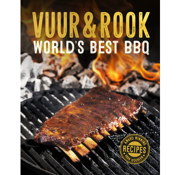 Vuur&Rook PRE-ORDER Vuur&Rook World's Best BBQ Boek GESIGNEERD