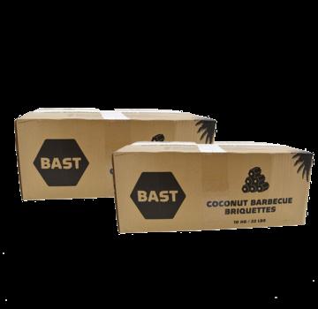 Bast Bast Coconut Briquettes Tubes 2 x 10 kg Deal