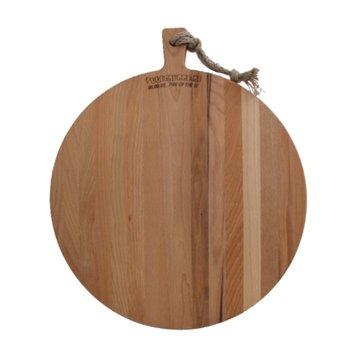 Vuur&Rook Beuken Houten Serveerplank Rond 45 x 2 cm