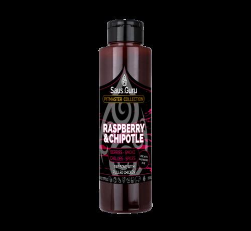 Saus.Guru Saus.Guru Raspberry & Chipotle Pitmaster Collection 500 ml