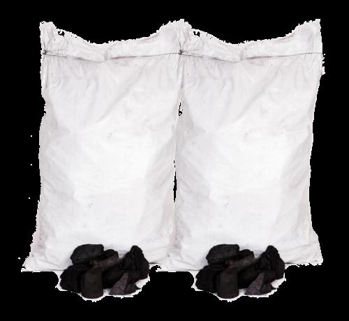 Vuur&Rook Unbranded White Quebracho Restaurant Charcoal 2 x 10 kg Deal