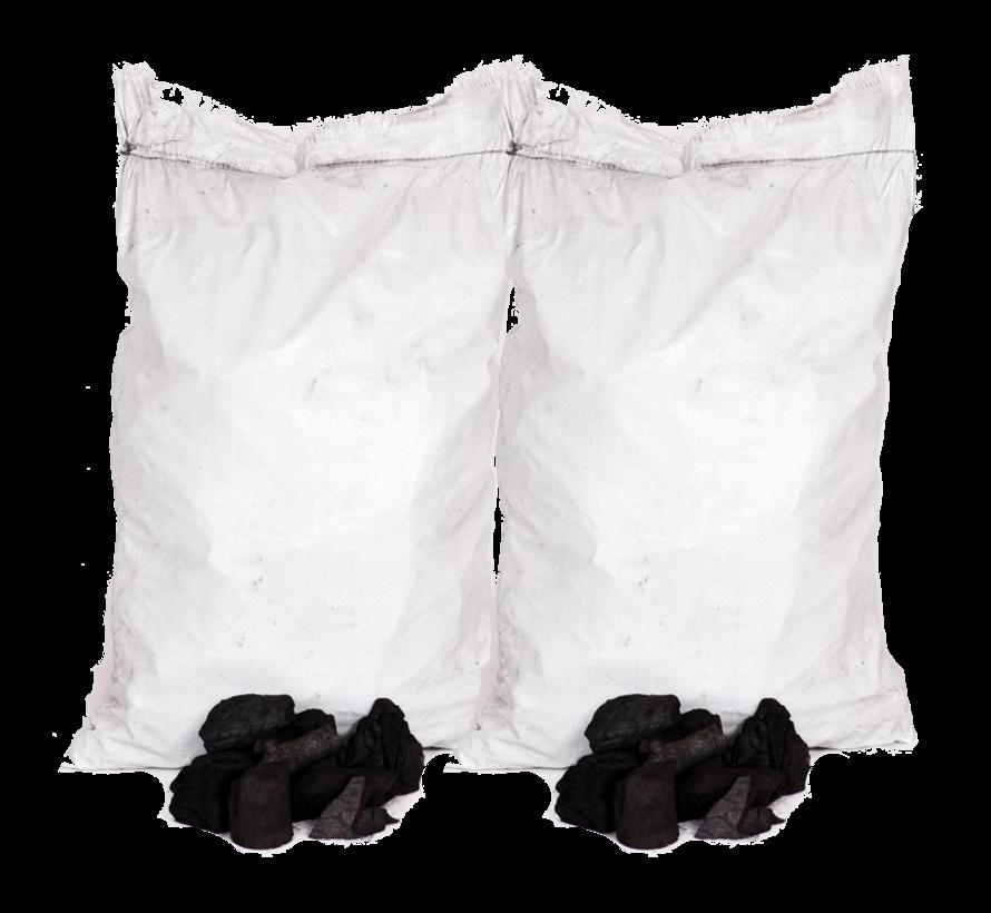 Unbranded White Quebracho Restaurant Charcoal 2 x 10 kg Deal
