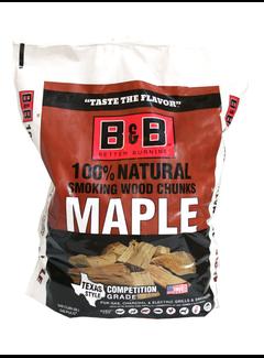 B&B B&B Maple Chunks 549 Cu