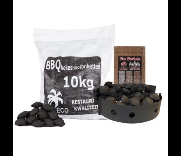 Vuur&Rook Vuur&Rook Hot Coconut Deal 10 kg