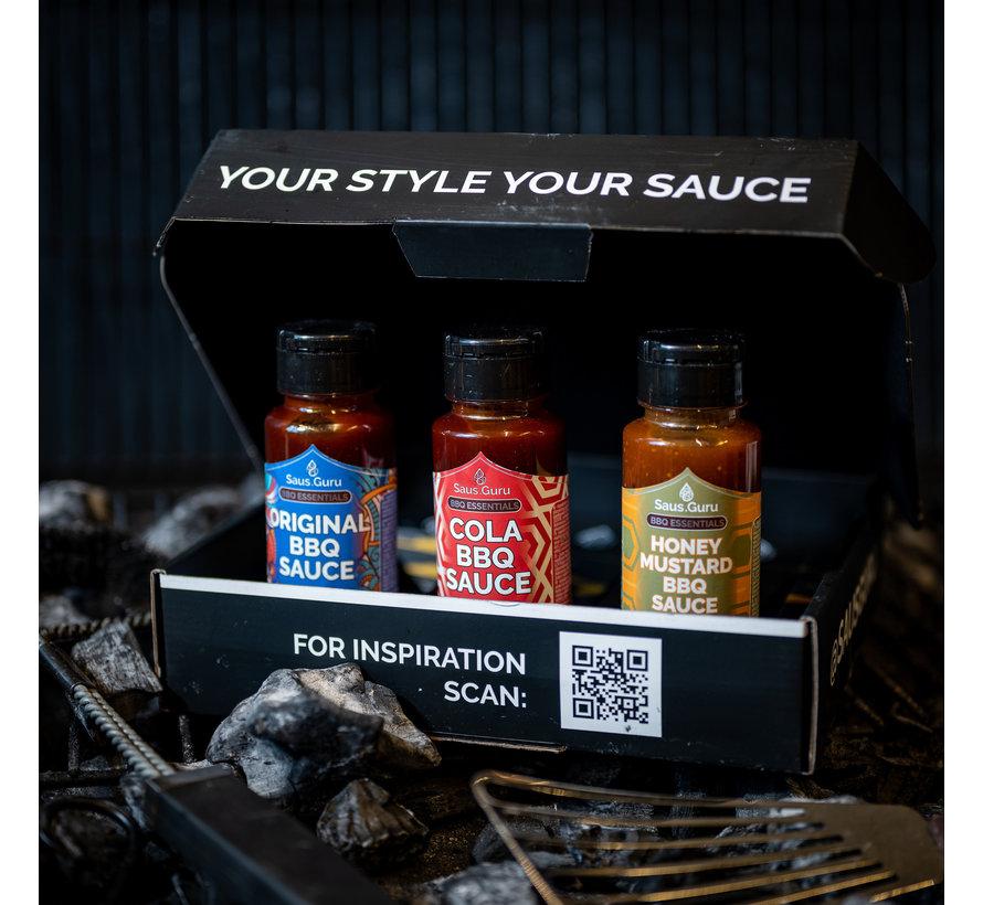 Saus.Guru Giftpack BBQ Essentials No.1
