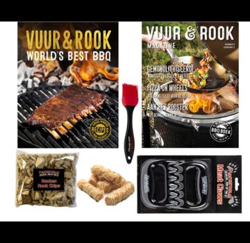 Vuur&Rook VADERDAG DEAL Vuur&Rook World's Best BBQ Boek