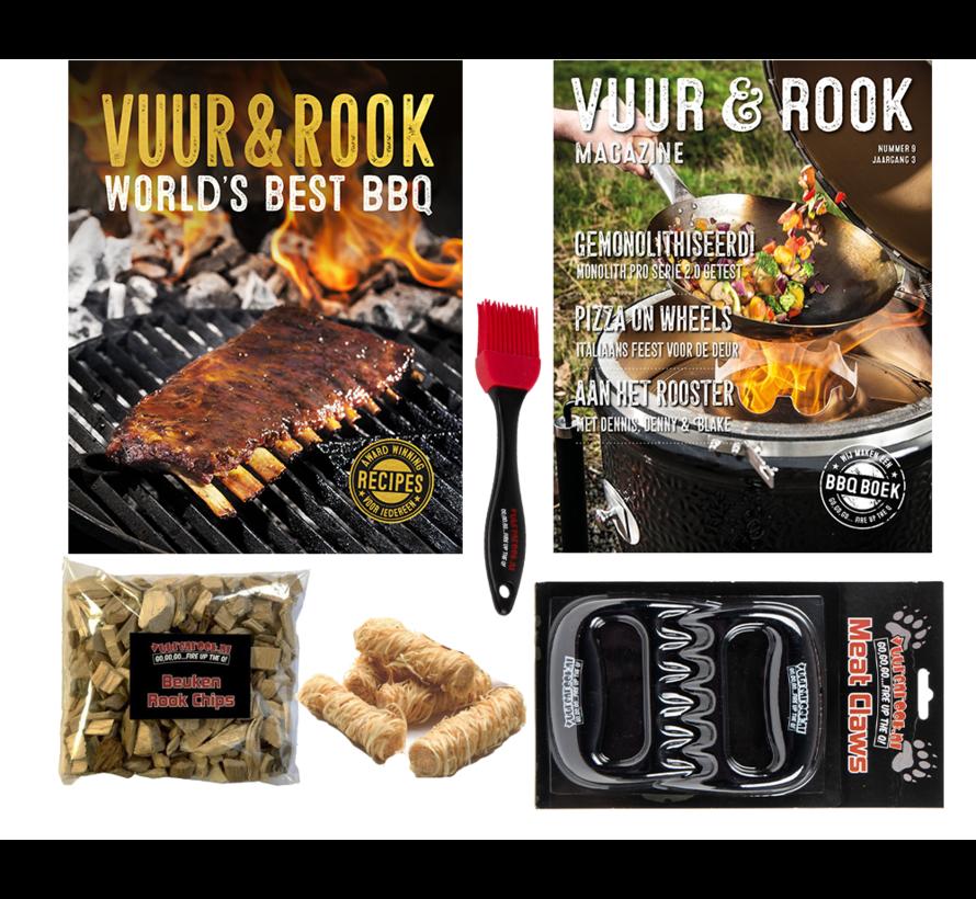 Vuur&Rook World's Best BBQ Boek Mega Deal!