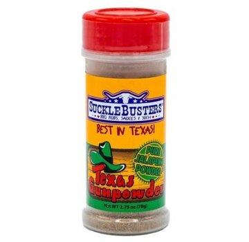 SuckleBusters Sucklebusters Texas Gunpowder Original Green Jalapeno 2.75 oz