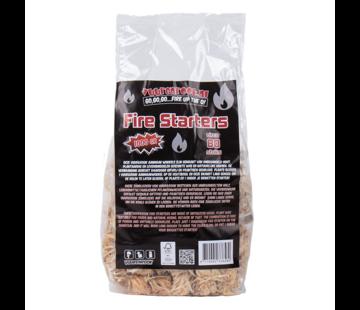 Vuur&Rook Vuur&Rook Fire Starters / Wokkels Circa 80 stuks / 1 kg