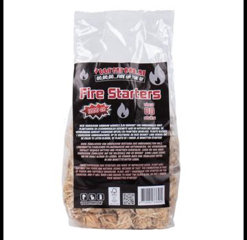 Vuur&Rook Vuur&Rook Fire Starters / Wokkels Circa 80 pieces / 1 kg