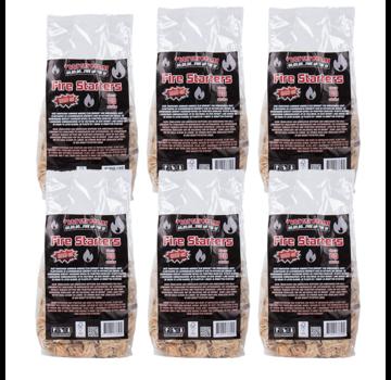 Vuur&Rook Vuur&Rook Fire Starters / Wokkels Circa 6 x 80 Pieces