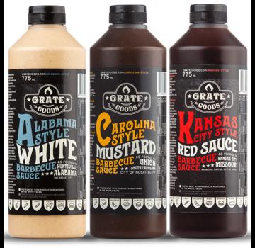 Grate Goods Dutch Combo Deal Award Winning Sauce 3x265ml
