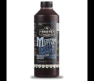 Grate Goods Grate Goods Memphis Sweet & Smokey BBQ Sauce XL 775 ml
