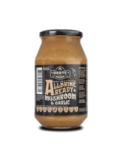 Grate Goods Grate Goods All Brine Mushroom & Garlic 475 ml