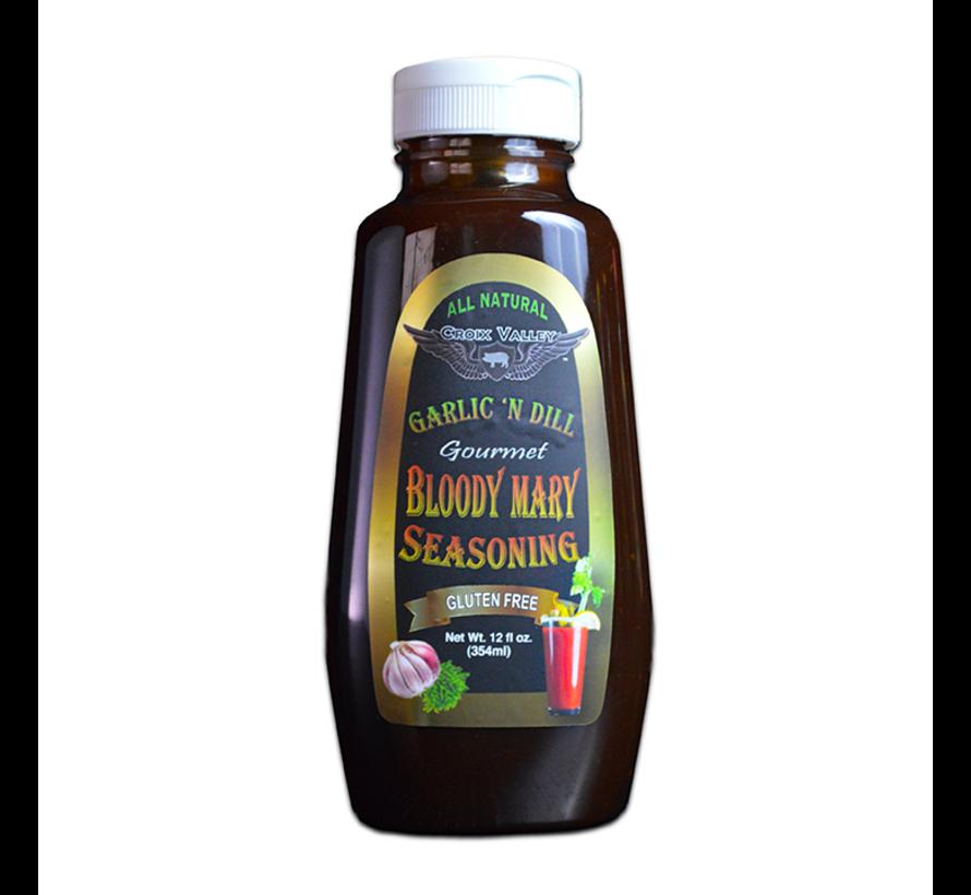 Croix Valley Garlic 'n Dill Bloody Mary Seasoning 12 oz