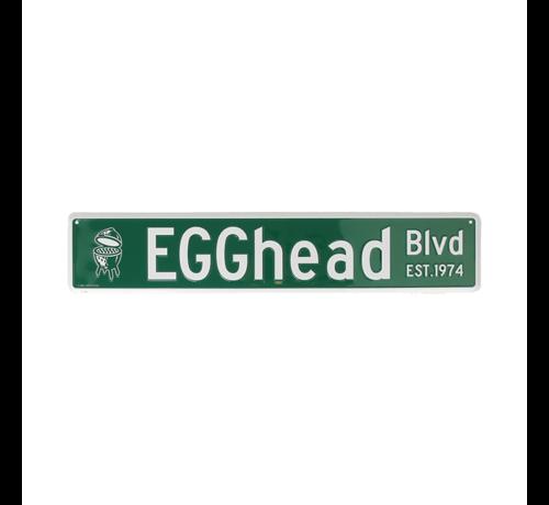Big Green Egg Big Green Egg Straatnaambord Egghead BLVD