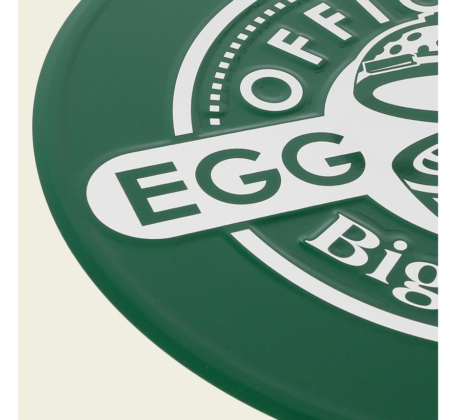 Big Green Egg Rond Tekstbord Groen Official Egghead