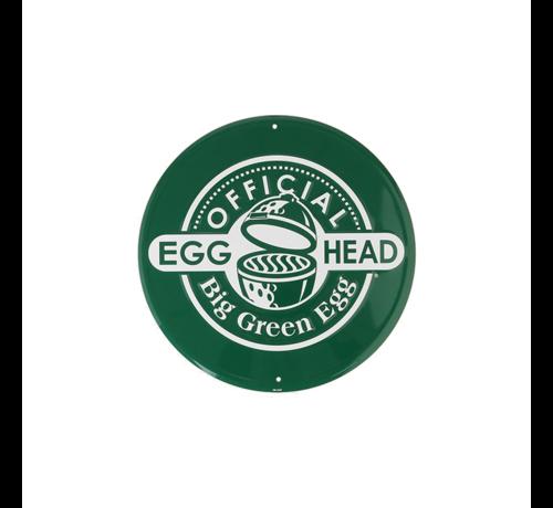 Big Green Egg Big Green Egg Rond Tekstbord Groen Official Egghead