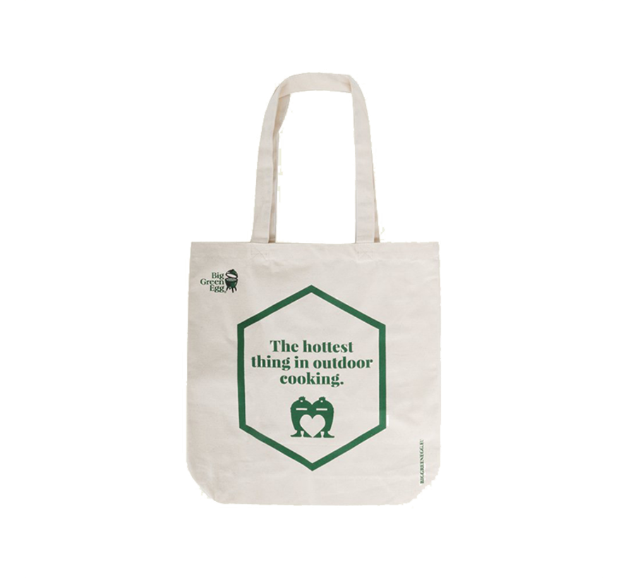 Big Green Egg Canvas Shopper - The Hottest Thing In Outdoor Cooking