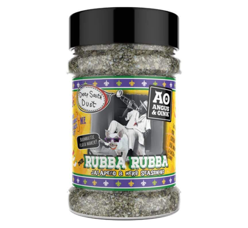 Angus & Oink Angus&Oink Rubba Rubba BBQ Seasoning 200 gram