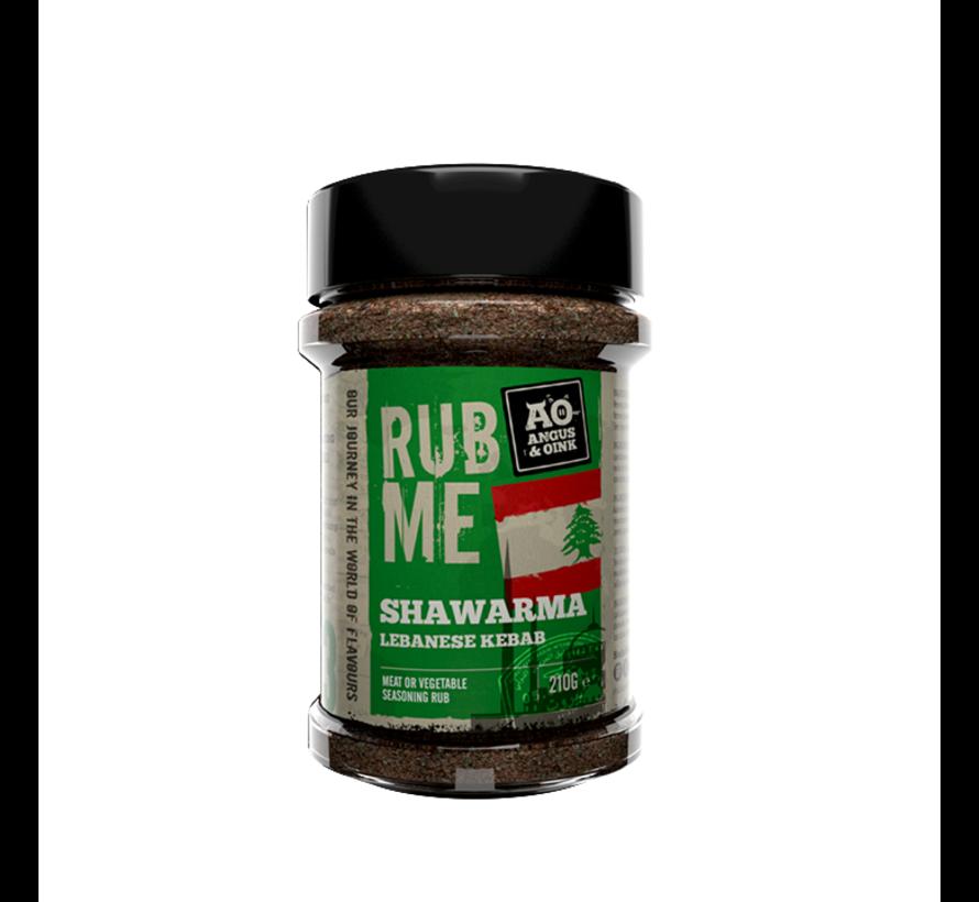 Angus&Oink (Rub Me) Shawarma Herbs Lebanese Kebab 220 gram