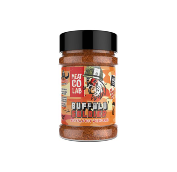 Angus & Oink Angus&Oink (Meat Co Lab) Buffalo Soldier Hot Wing Rub 200 gram